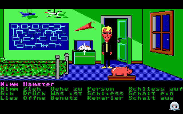 Screenshot - Maniac Mansion (Oldie) (PC)