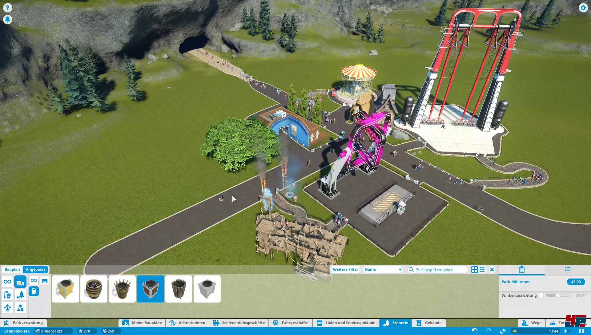 how to start a planet coaster