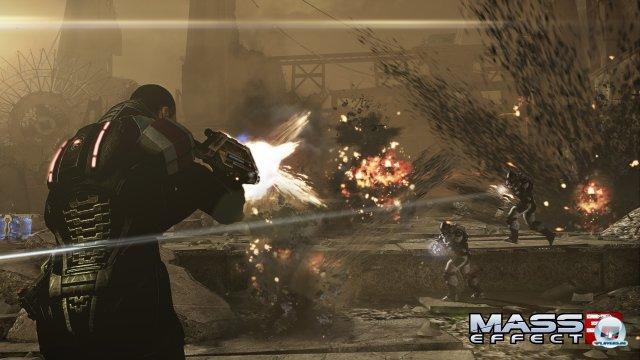 Explosive Action � la Gears of War bestimmt die Missionen.