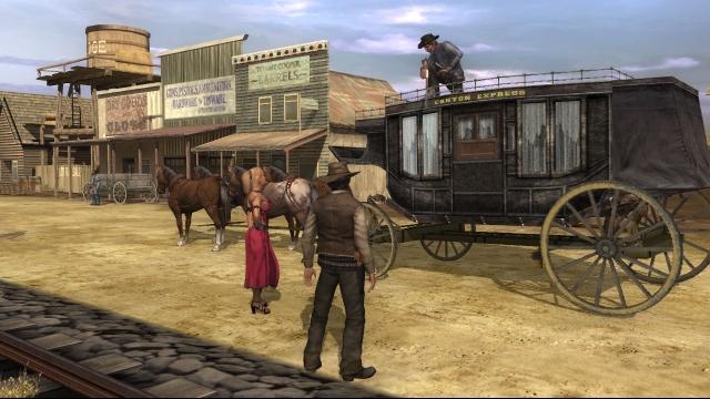Gun (2006)<br><br>Und endlich kommt der Wilde Westen in der aktuellen Konsolenklasse an: Gun erschien zwar auch auf PS2, GameCube, Xbox und PC, war aber auch ein früher Xbox 360-Titel. Zugegeben: Das Alter sieht man ihm an. Aber wenn sich die für deutsche Gringos geschnittene Jagd nach... ihr ahnt es... dem Mörder des Ziehvaters im Laufwerk dreht, erlebt man heute noch einen richtig guten Western in einer zwar nicht offenen, aber weiten und frei bereitbaren Welt. 2092918