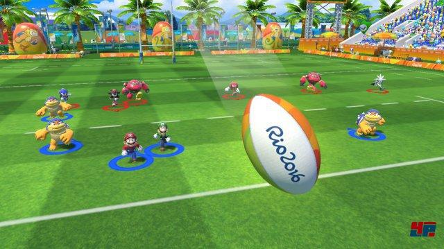 Rugby-Matchs können ausschließlich auf der Wii U bestritten werden
