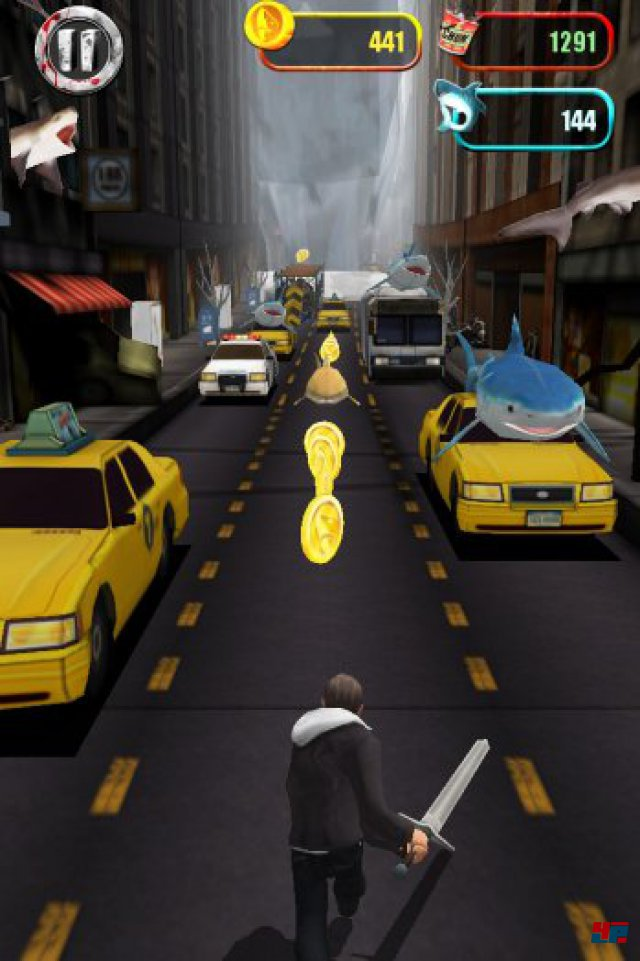 Screenshot - Sharknado: The Video Game (iPad)
