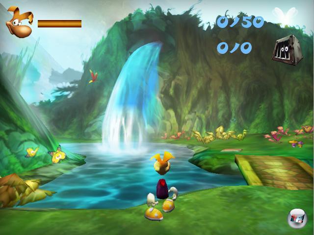 Der neue Rayman ist der alte Rayman - und sieht immer noch ganz manierlich aus.