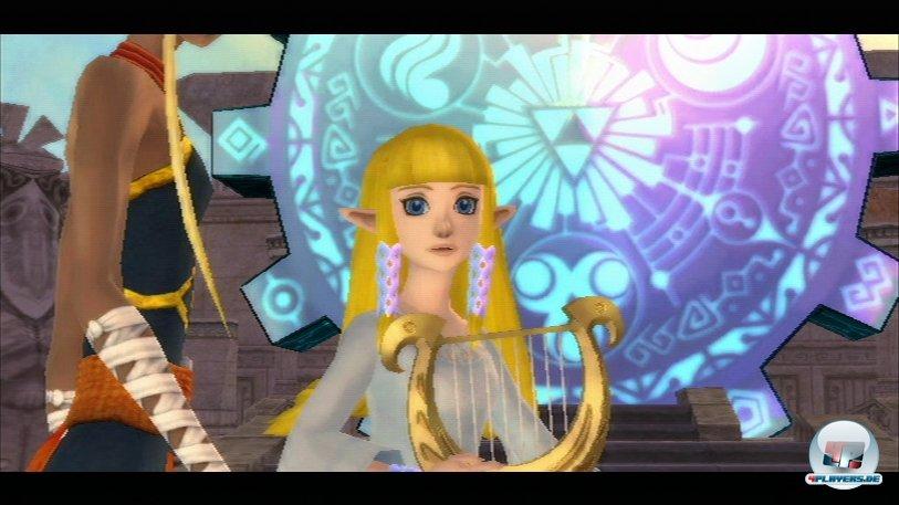 Wo ist Zelda nur hin? Man folgt ihr streng linear nach der Entf�hrung.