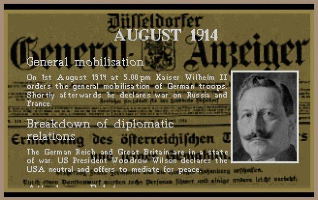Geschehnisse und der Verlauf des Ersten Weltkrieges wurden historisch akkurat wiedergegeben.