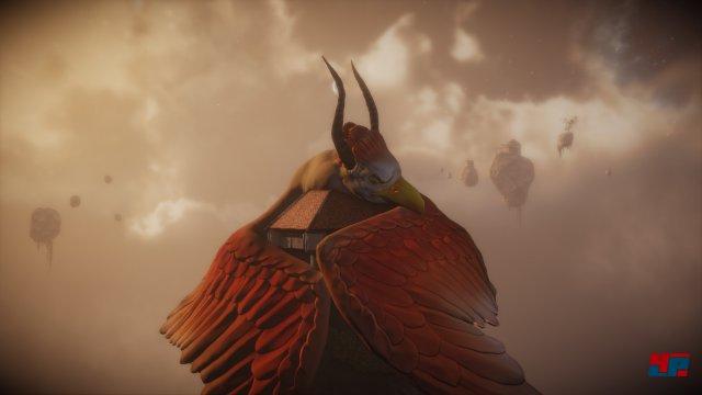 Was hat es mit diesem riesigen schlafenden Vogel auf sich?