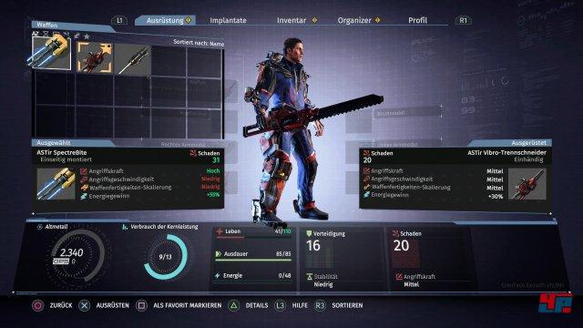 Man findet immer mehr Ausrüstung sowie Waffen, die ganz unterschiedliche Kampfstile ermöglichen.