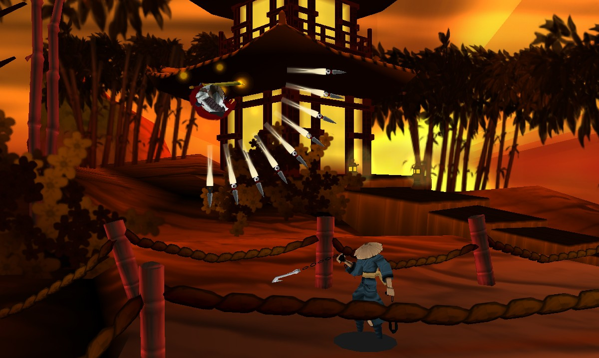 Die vertrauten Moves wie der Shuriken-Sprung sind wieder vorhanden. Grafisch ist der neue Ninja-Meister zum aktuellen Stand allerdings eher zweckmäßig denn hübsch.