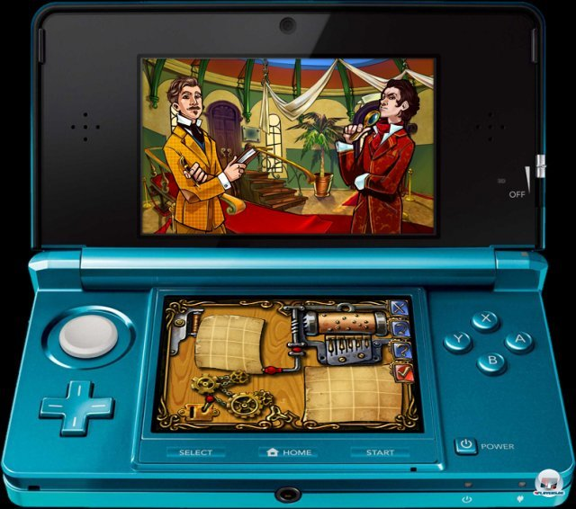 Screenshot - Sherlock Holmes and the Mystery of the Frozen City (3DS) 92401402