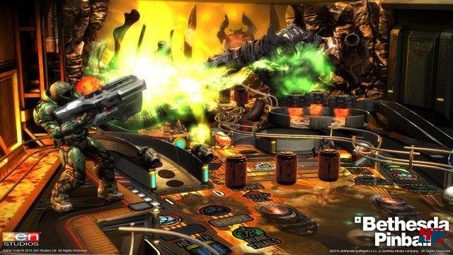 Der Doom-Tisch ist prall gefüllt mit Action und aufwändigen Effekten.