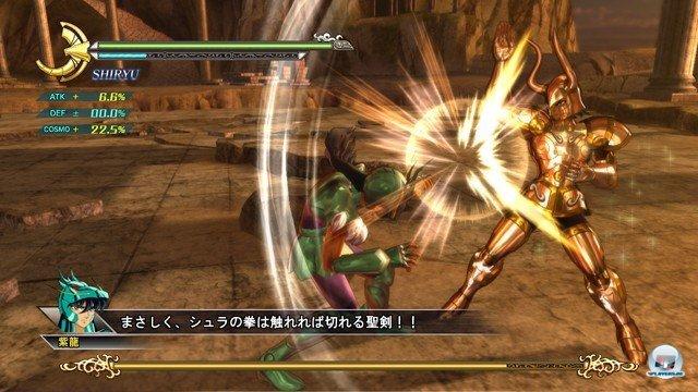 Screenshot - Saint Seiya: Sanctuary Battle (PlayStation3) 2274212