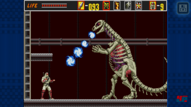 Screenshot - The Revenge of Shinobi (Android)