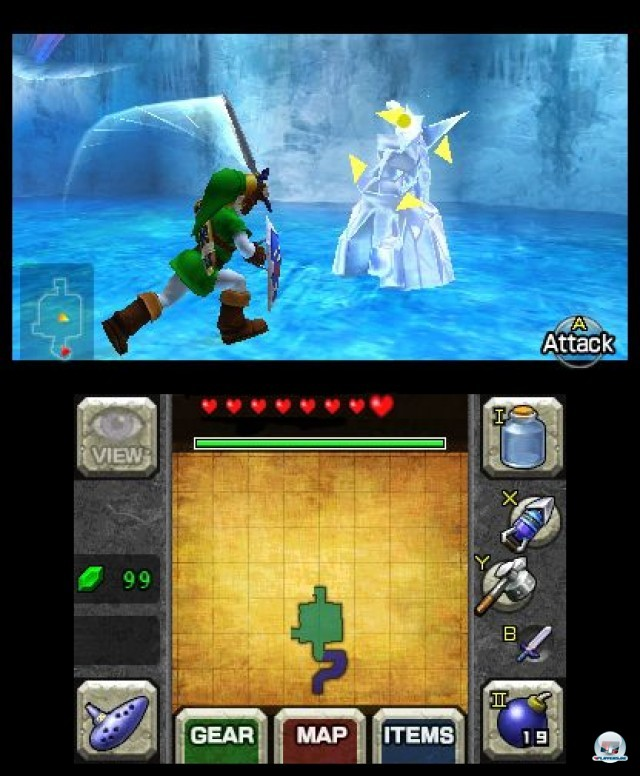 Screenshot - The Legend of Zelda: Ocarina of Time 3D (3DS) 2230647