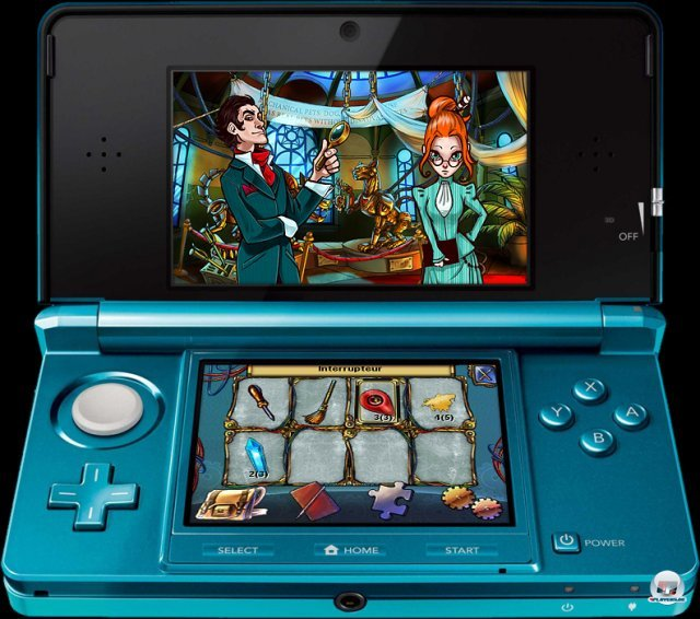 Screenshot - Sherlock Holmes and the Mystery of the Frozen City (3DS) 2373372