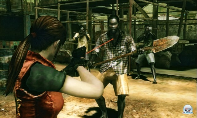 Screenshot - Resident Evil: The Mercenaries 3D (3DS) 2227424