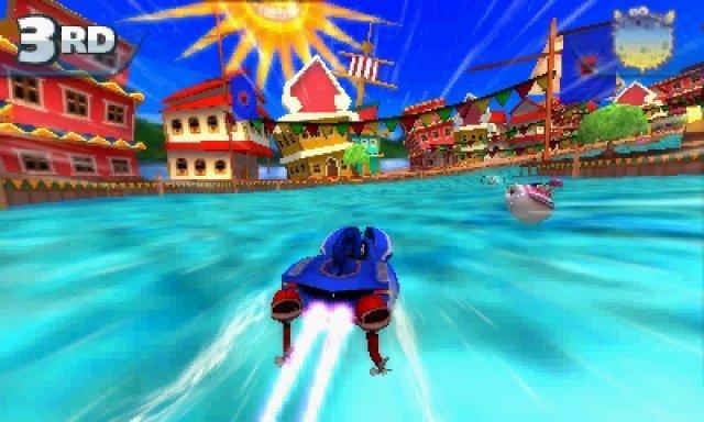 Trotzdem wecken die Kulissen auch auf dem Handheld Erinnerungen an viele Sega-Klassiker.