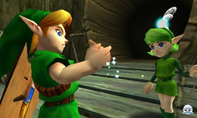 Screenshot - The Legend of Zelda: Ocarina of Time 3D (NDS) 2216959