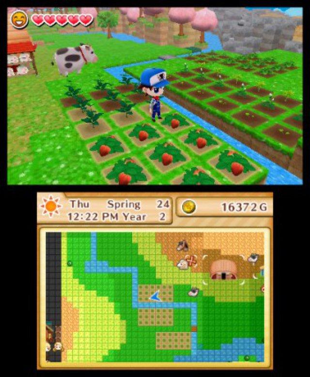 Screenshot - Harvest Moon: Das verlorene Tal (3DS) 92504995