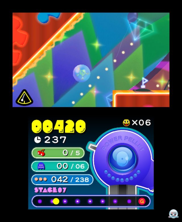 Screenshot - Pac-Man & Galaga Dimensions (3DS) 2257392