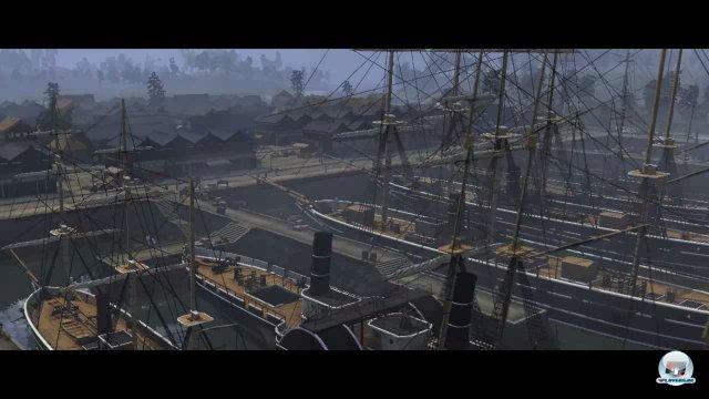Die Zeiten ändern sich: Kanonenboote in japanischen Häfen des 19. Jahrhunderts.