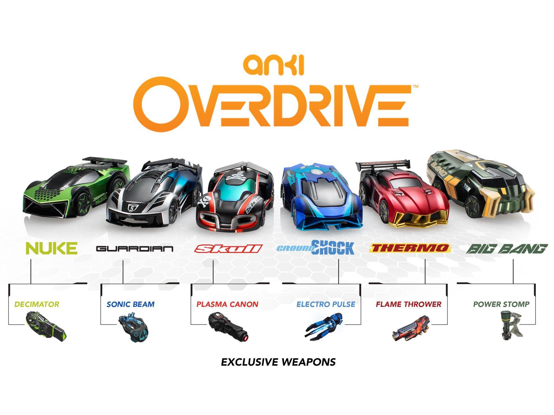 Can Anki Overdrive Trucks Battle Cars