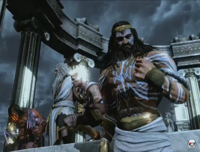 Die olympischen Götter werden in der God of War-Reihe auf die »Stars« zusammengestutzt: In der Mythologie gab es wesentlich mehr Götterfiguren als nur Zeus, Hades, Poseidon, Athena, Helios, Ares, Apollo oder Hermes. 2072153
