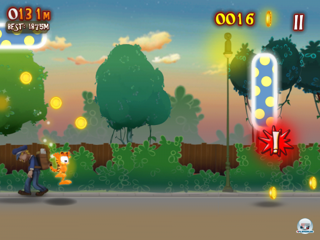 Screenshot - Garfield's Wild Ride (Android)