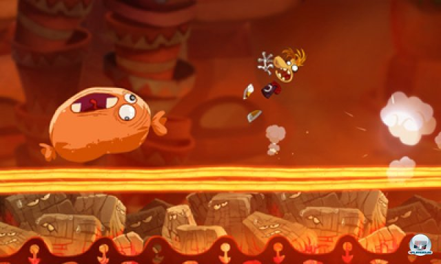Screenshot - Rayman Origins (3DS) 2367062