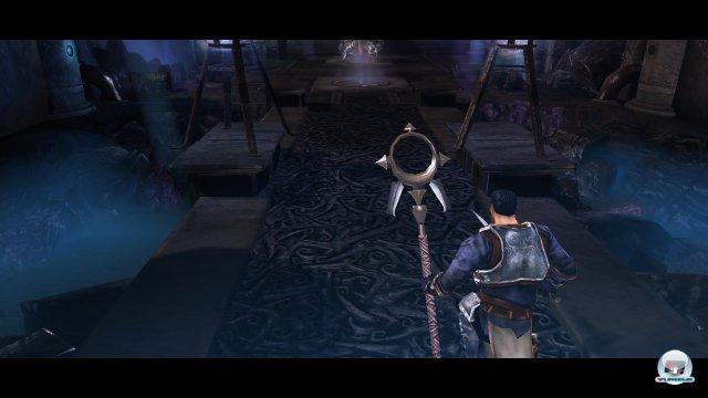 Wenn Darius sich auf den Endgegner stürzt, wird das im Video gezeigt.