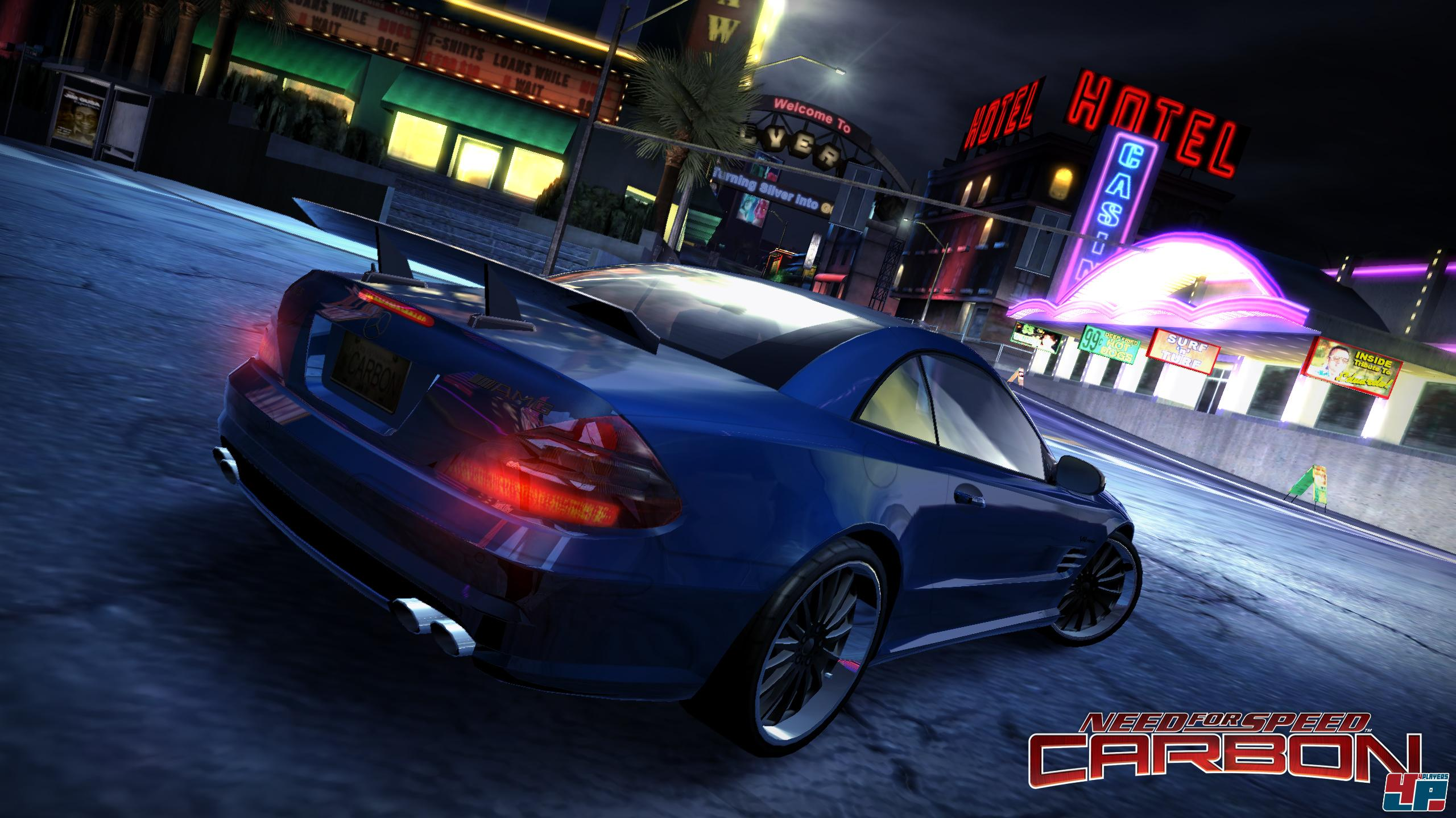 Need for Speed Carbon screenshot скриншот.