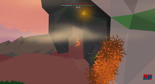 Um an die Rune für das J zu gelangen, muss man im Deep-Forest-Level ganz nach rechts fliegen und oberhalb der oberen Passage zum Swamp-Level nach einer versteckten Höhle in Dornennähe Ausschau halten.