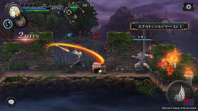 Screenshot - Castlevania: Grimoire of Souls (iPad) 92563736