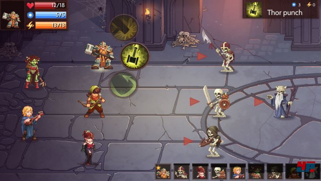 Screenshot - Dungeon Rushers (Android)