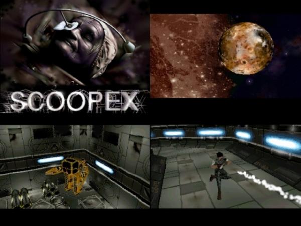 Im Laufe der Zeit hielten auch 3D-Engines Einzug in Szenedemos. Hier am Beispiel von »Alien 2« (Amiga) von Scoopex.