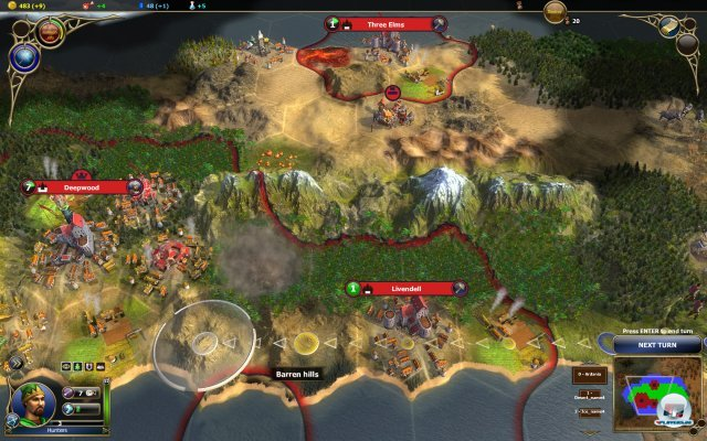 Screenshot - Warlock: Master of the Arcane (PC) 2310437