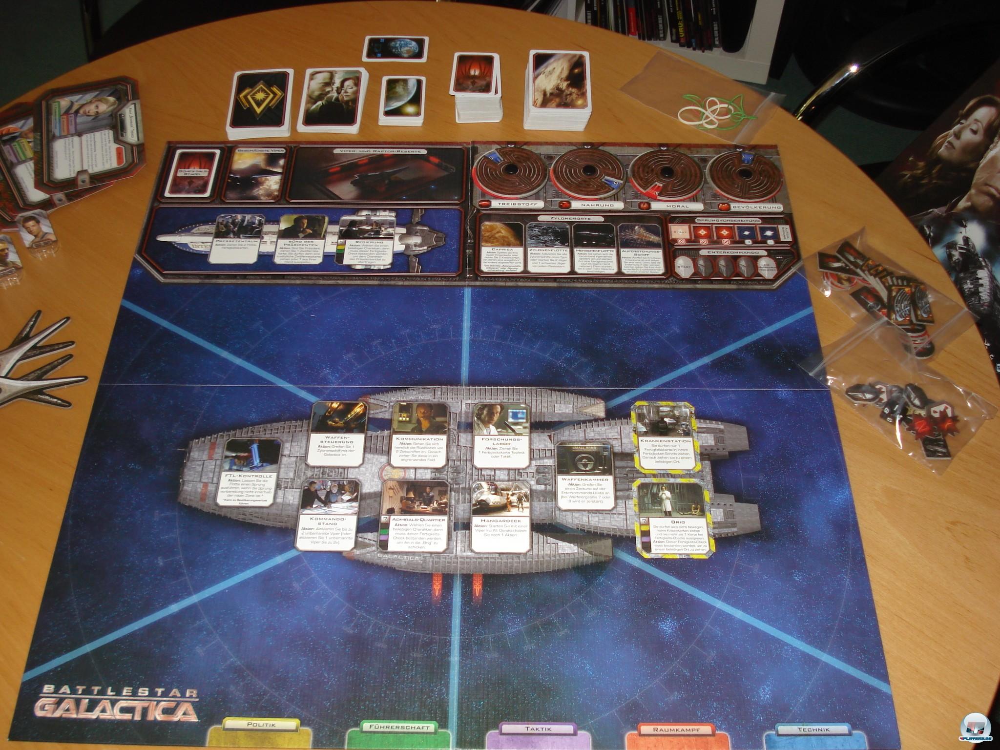 battlestar galactica das brettspiel special strategie spielkultur. Black Bedroom Furniture Sets. Home Design Ideas