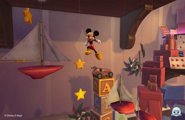 Micky hüpft so elegant durch das Schloss wie vor gut 25 Jahren.