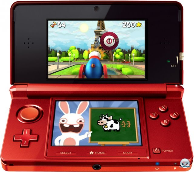 Screenshot - Rabbids Rumble (3DS)