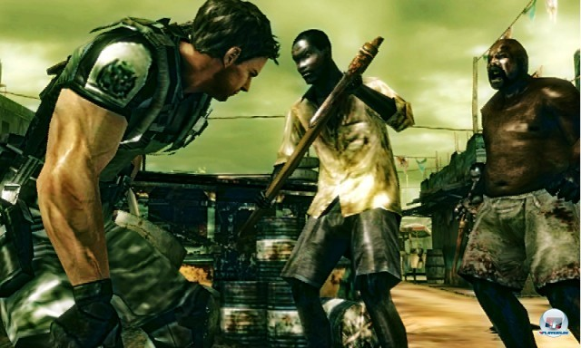Screenshot - Resident Evil: The Mercenaries 3D (3DS)