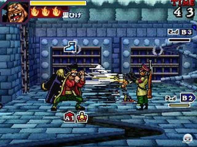 Screenshot - One Piece: Gigant Battle (NDS)