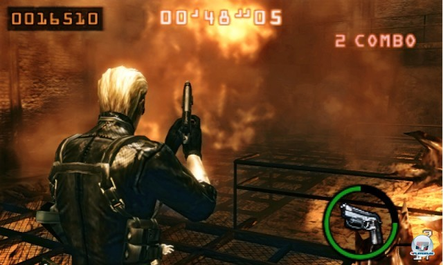 Screenshot - Resident Evil: The Mercenaries 3D (3DS) 2227522