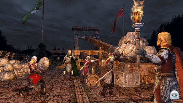 Screenshot - Der Herr Der Ringe Online: Helms Klamm (PC)