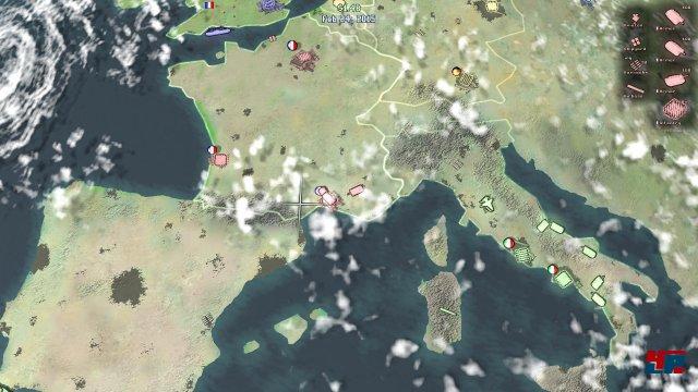 Die Kulisse bietet eine schicke Satellitenansicht, ist aber aus der Nähe höchstens zweckmäßig.