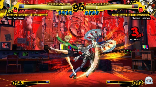 Screenshot - Persona 4: Arena (PlayStation3) 2370502