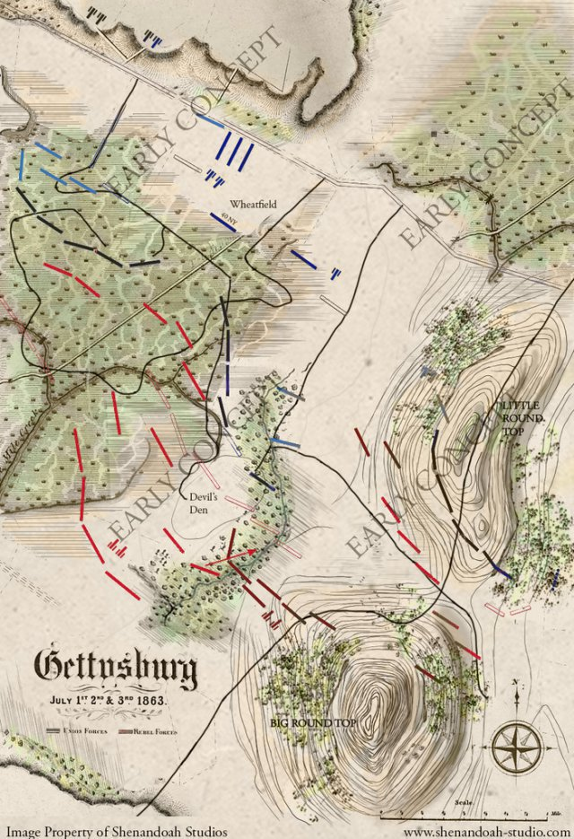Screenshot - Gettysburg: The Tide Turns (iPad)