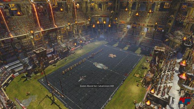 Die stilvolle Darstellung des Warhammer-Ablegers zählt zu den Stärken der Umsetzung.