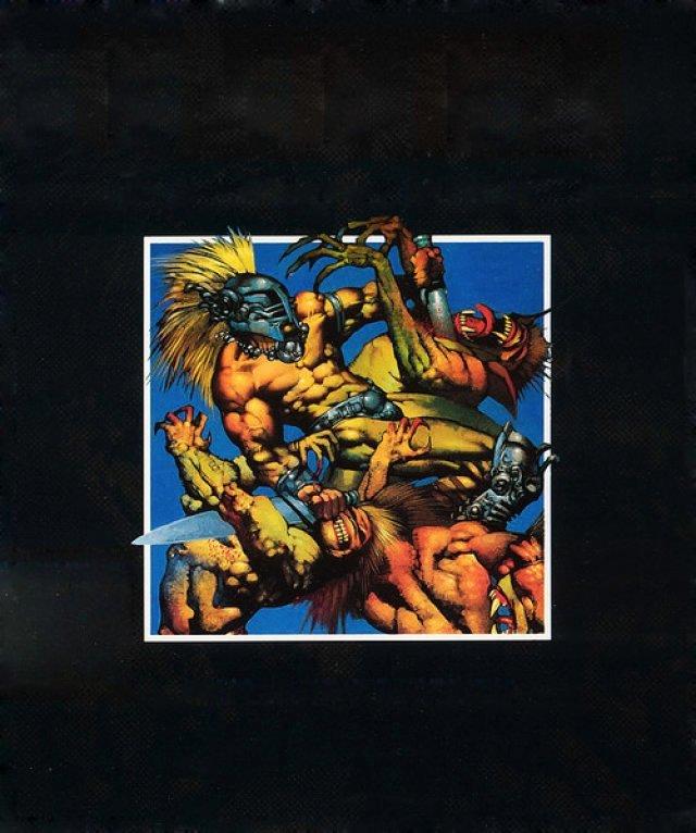 Der britische Comic-K�nstler Simon Bisley zeichnete das Cover f�r Gods (1991).