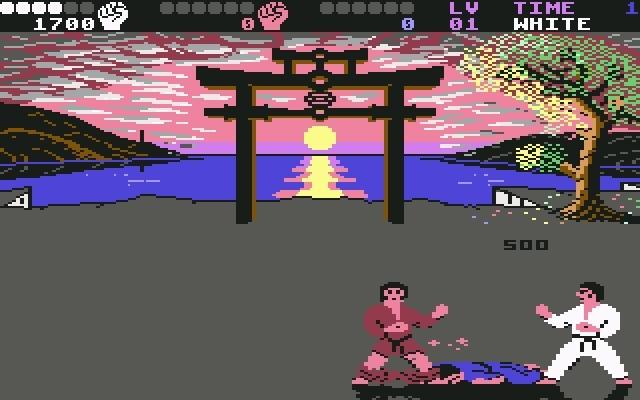 <b>International Karate plus</b> (1987)<br> Entwickler: System 3<br> Publisher: System 3 1748453