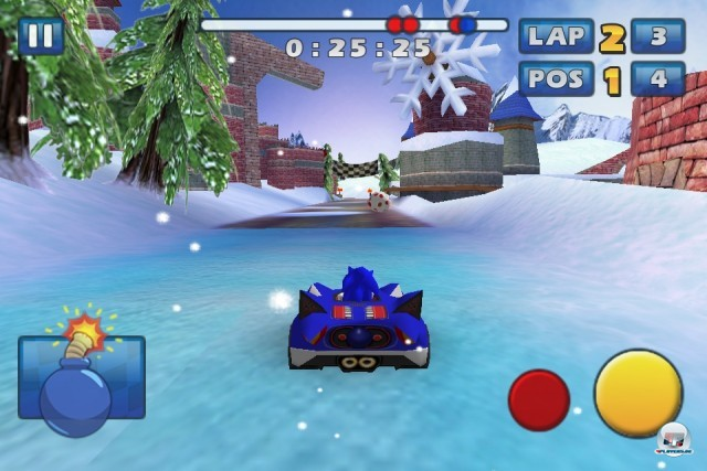 Screenshot - Sonic & Sega All-Stars Racing (iPhone) 2235182