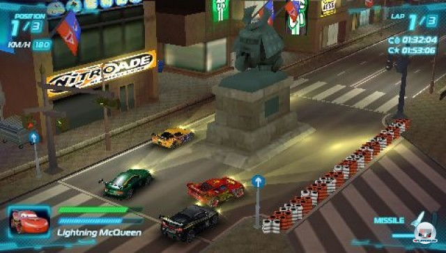 Screenshot - Cars 2: Das Videospiel (PSP) 2231614